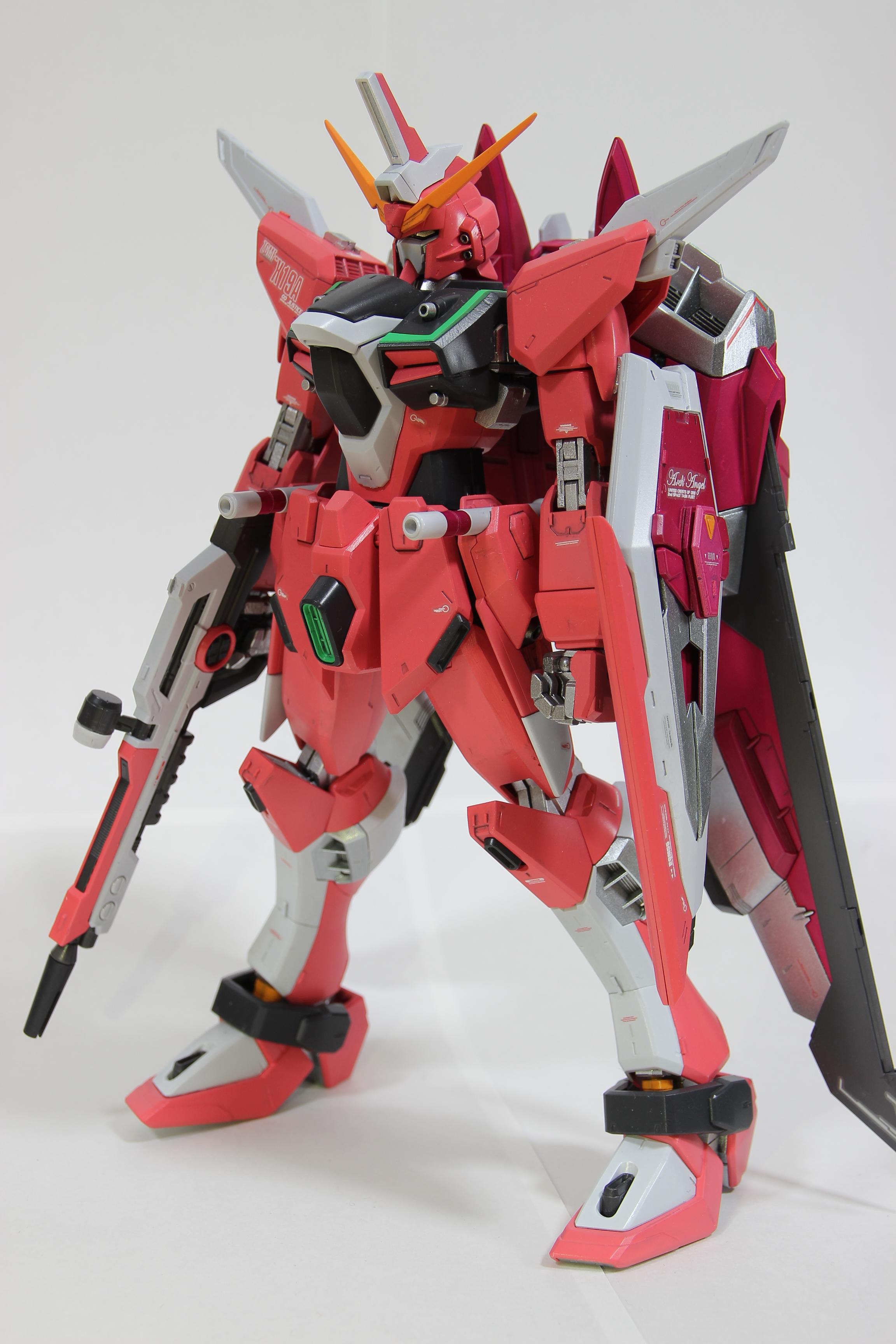 MG インフィニットジャスティスガンダム(完成済み)